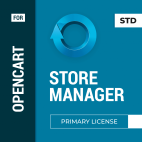 Store Manager for OpenCart Primary License