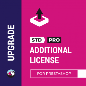 "Upgrade ""Standard"" to ""PRO"" - Store Manager for Prestashop Additional License"