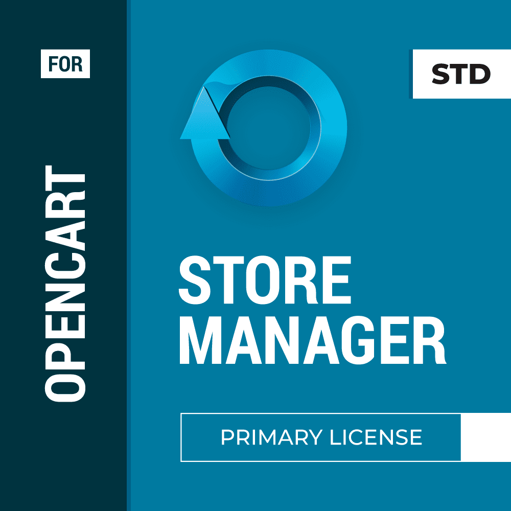 Store Manager for OpenCart Primary + Additional License