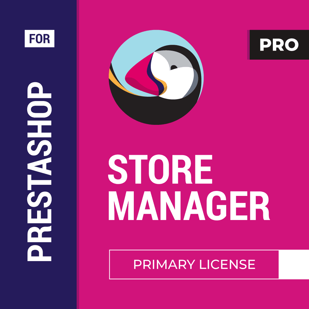Store Manager for PrestaShop Business Pack, Primary + 3 Additional PRO Licenses + 4 Addons