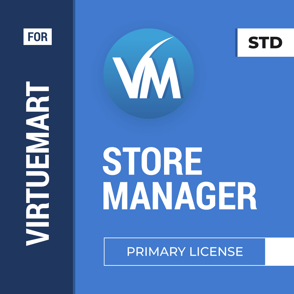 Store Manager for VirtueMart Primary+Additional License